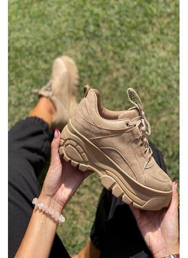 İnan Ayakkabı Bayan Spor Ayakkabı Ten